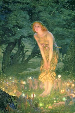 Midsummer Eve by Edward Robert Hughes
