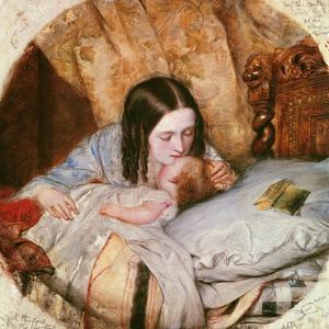 The Good Night Kiss by Edward Robert Hughes