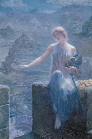 The Valkyrie's Vigil, 1906 by Edward Robert Hughes