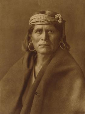A Walpi Man, Hopi, 1906 by Edward S. Curtis