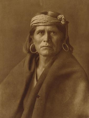 A Walpi Man, Hopi, 1906