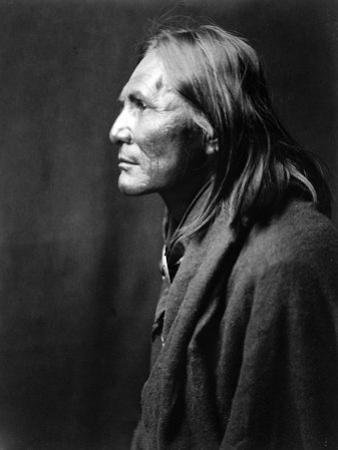 Alchise, Apache Indian by Edward S. Curtis