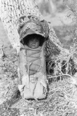 Apache Baby by Edward S. Curtis