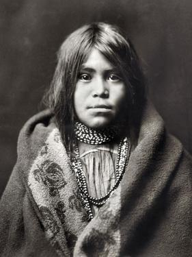 Apache Girl, C1903 by Edward S. Curtis