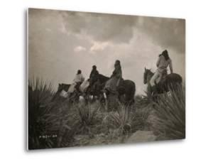 Before the Storm, Apache by Edward S. Curtis