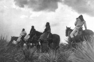 Before the Storm by Edward S. Curtis