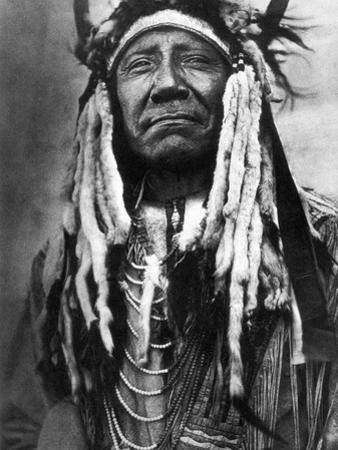 Cheyenne Chief, C1910 by Edward S. Curtis