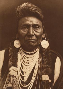 Chief Joseph-Nez Perce, 1903 by Edward S. Curtis