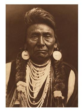 Chief Joseph-Nez Perce, 1903 by Edward S. Curtis