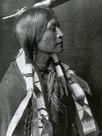 Jicarilla Apache by Edward S. Curtis