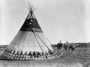 Kainai Tepee, c1927 by Edward S. Curtis