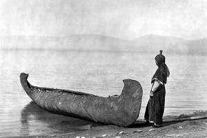Kutenai Woman, c1910 by Edward S. Curtis