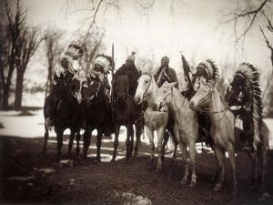 Native American Chiefs by Edward S Curtis