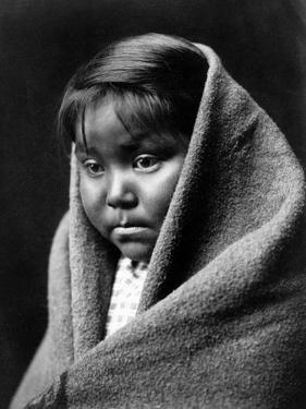 Navajo Child, C1904 by Edward S. Curtis