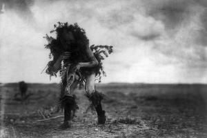 Navajo Dancer, c1905 by Edward S. Curtis