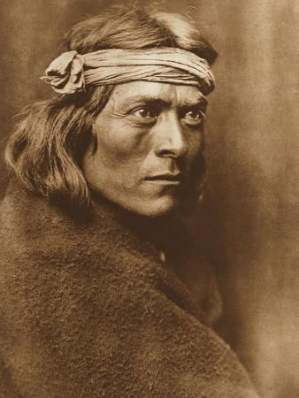 North American Indian, a Zuni Governor