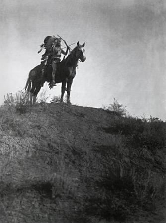 Ready for the Charge by Edward S. Curtis