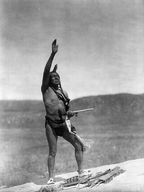 Sioux Invocation, c1907 by Edward S. Curtis