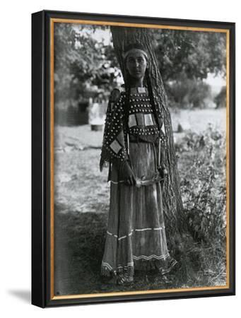 Sioux Maiden by Edward S. Curtis