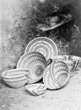 Yokuts Baskets by Edward S. Curtis