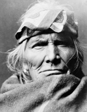 Zuni Elder by Edward S. Curtis