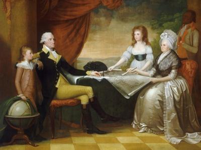 The Washington Family, 1789-1796