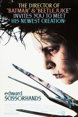 EDWARD SCISSORHANDS [1990], directed by TIM BURTON.