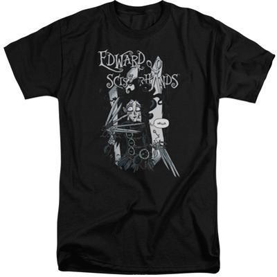 Edward Scissorhands- Hello (Big & Tall)