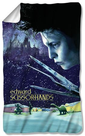 Edward Scissorhands - Movie Poster Fleece Blanket