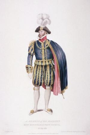 Gentleman in Ceremonial Costume, 1824