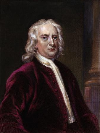 Portrait of Sir Isaac Newton
