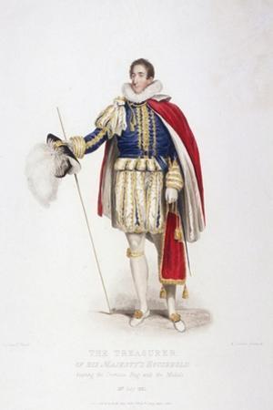 Treasurer in Ceremonial Costume, 1826
