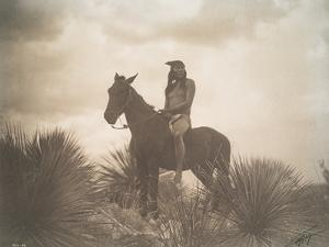 The Scout, Apache by Edward Sheriff Curtis