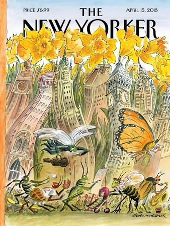 The New Yorker Cover - April 15, 2013