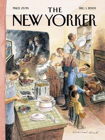 The New Yorker Cover - December 1, 2003