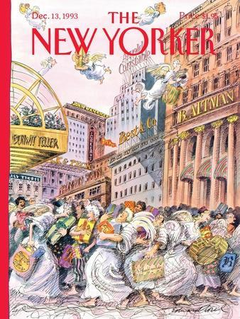 The New Yorker Cover - December 13, 1993