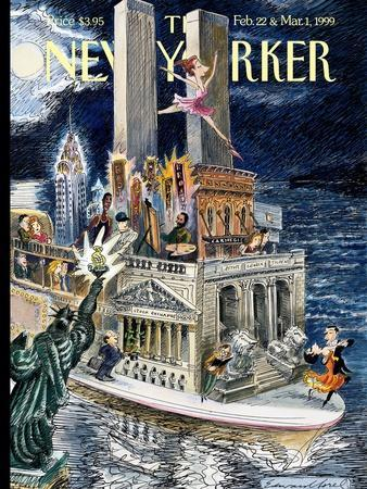 The New Yorker Cover - February 22, 1999