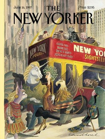 The New Yorker Cover - June 16, 1997