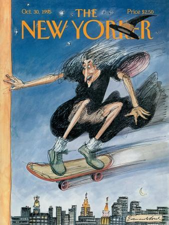 The New Yorker Cover - October 30, 1995