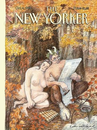 The New Yorker Cover - October 4, 1993 by Edward Sorel