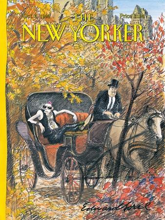 The New Yorker Cover - October 5, 1992