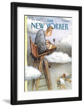The New Yorker Cover - September 4, 1995 by Edward Sorel