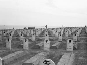 US Marine Corps Cemetery by Edward Steichen