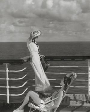Vogue - July 1934 - Cruising to Hawaii by Edward Steichen