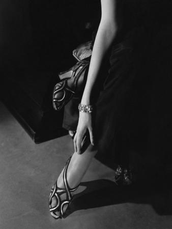 Vogue - March 1935 - Princess Nathalie Paley's Accessories by Edward Steichen