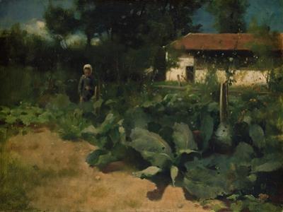 A French Kitchen Garden, 1883