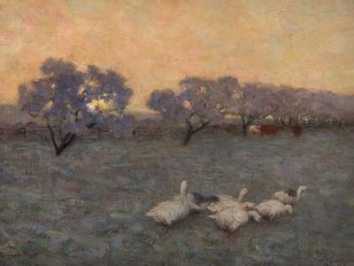 Sunrise in Winter, C.1891