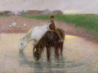The Horse Pond, C.1890