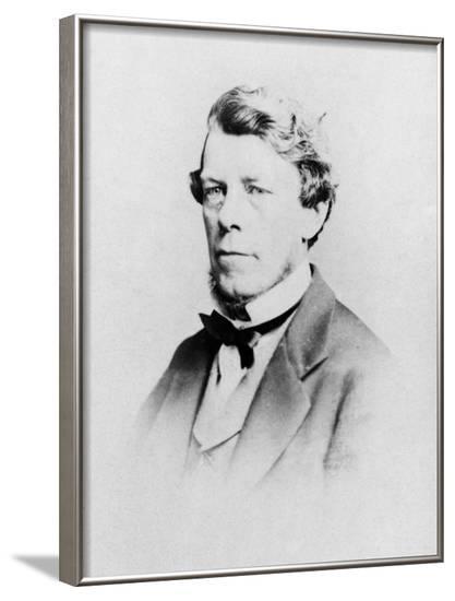 Edward T Bennett, Spiritualist and Author--Framed Photographic Print