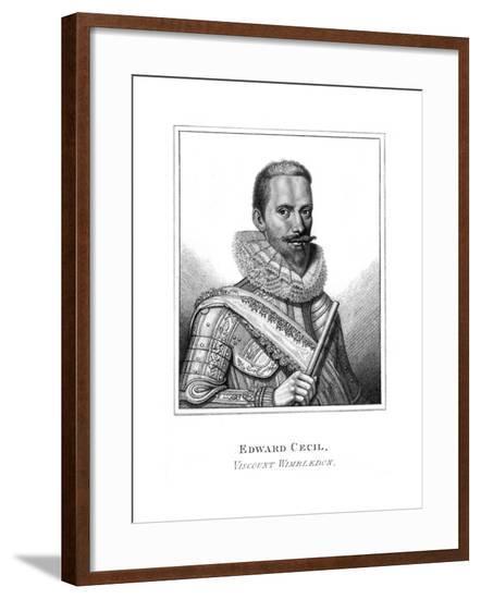 Edward Vct Wimbledon--Framed Giclee Print